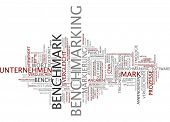picture of benchmarking  - Word cloud  - JPG