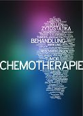 image of chemotherapy  - Word cloud  - JPG