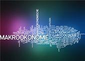 picture of macroeconomics  - Word cloud  - JPG