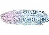 Word cloud -  scenario planning