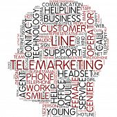 Info-text graphic - telemarketing