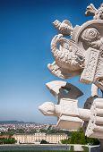 pic of schoenbrunn  - Statue of Gloriette - JPG