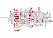 Word cloud - utopia