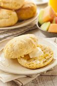 picture of buttermilk  - Homemade Hot Buttermilk Biscuits to eat at Breakfast - JPG