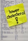 Lower Your Cholesterol Concept