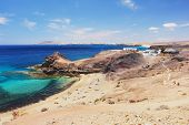 picture of papagayo  - View of the beach Papagayo - JPG