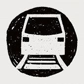 pic of tram  - Doodle Tram - JPG
