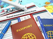 picture of insurance-policy  - Travel insurance application form - JPG