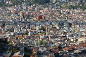foto of population  - Populous city of Alanya in Turkey at spring time - JPG