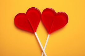 picture of lollipops  - Two lollipops - JPG