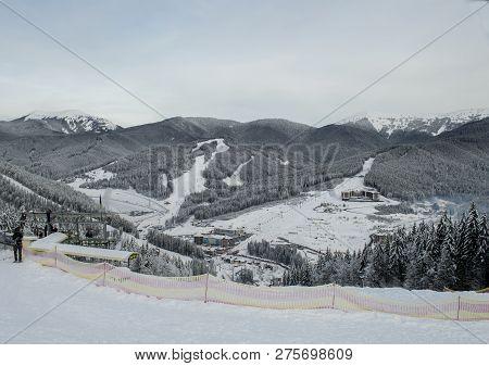 Beautiful Ski Resort Bukovel The