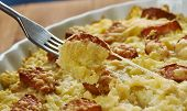 Hash Brown  Breakfast Casserole With Sausage, Easy Breakfast Casserole Is Made With Frozen Hash Brow poster
