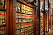 pic of law-books  - Law book library - JPG