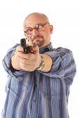 picture of crossed pistols  - Cross - JPG