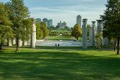 pic of chimes  - A photo of the Nashville Tennessee state capitol building from bicentennial park - JPG