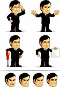 Businessman Or Company Executive Mascot 9