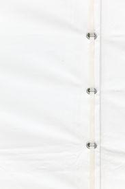 stock photo of tarp  - white tarp or waterproof tarpaulin detail background - JPG