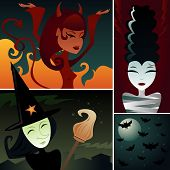 pic of she devil  - Three frightening females - JPG