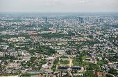 foto of polonia  - Aerial view on Warsaw capital of Poland - JPG