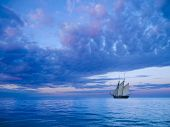 stock photo of mast  - ancient two - JPG