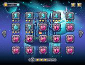 picture of uranus  - Illustration fabulous space with cheerful planets with the example screen levels the game interface with a progress bar panel objects buttons for gaming or web design - JPG