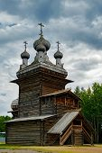 picture of ascension  - Old wooden Ascension Church in the reserve Malye Korely - JPG