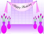 picture of happy birthday  - Dance Floor in a girls party birthday with  - JPG