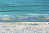 foto of gulf mexico  - Stretch of Miramar Beach in Destin Florida along the Gulf of Mexico - JPG