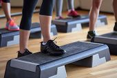 stock photo of platform shoes  - fitness - JPG