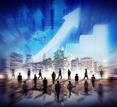 stock photo of international trade  - Stock Market Stock Exchange Trading Forex Business Currency International Concept - JPG