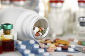 image of antibiotics  - macro photographed in studio environment vaccines - JPG