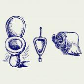 image of toilet  - Toilet - JPG