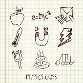 Постер, плакат: physics class