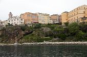 Citadel Fortress And Medieval Architecture Bastia Corsica France poster