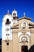 foto of senora  - Basilica de Nuestra Senora de la Candelaria, Tenerife, Canary Islands, Spain is a Catholic basilica  which has a shrine to a legendary Black Madonna - JPG