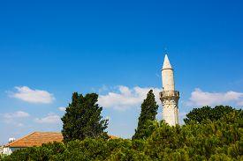pic of larnaca  - Djami Kebir Mosque Minaret  - JPG
