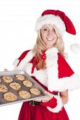 Santas Helper With Pan Cookies