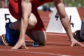 stock photo of race track  - Track and Field - JPG