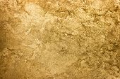 Golden Texture Background. Vintage Gold. poster