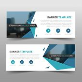 Corporate Business Banner Template, Horizontal Advertising Business Banner Layout Template Sign Set  poster