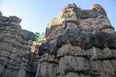 Pha Chor (canyon), In National Park, Chiang Mai Province, Thailand. Phachor In Doi Lo Park Is Larges poster