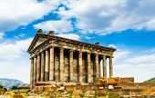 Garni Pagan Temple, The Hellenistic Temple In Republic Of Armenia poster