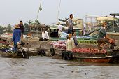 Can Tho Floating Market Vietnam