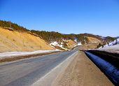 image of sakhalin  - The Mountain mouting pass Kholmskiy on island Sakhalin - JPG