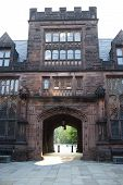 pic of ncaa  - passageway at princeton education school windows archway - JPG