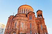 picture of apostolic  - building of Armenian Apostolic Church in Moscow - JPG