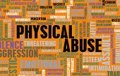 picture of abused  - Physical Abuse and Violence as a Abstract - JPG