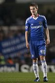 LONDON ENGLAND 23-11-2010. Chelsea's midfielder Josh McEachran during the UEFA Champions League grou