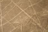 stock photo of geoglyph  - Nazca Lines - JPG