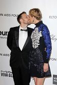 Bodhi Elfman, Jenna Elfman at the Elton John Aids Foundation 21st Academy Awards Viewing Party, West